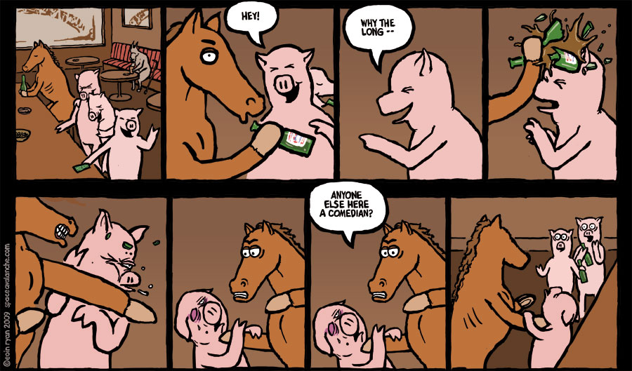 Space Avalanche - A Horse Walks into a Bar...