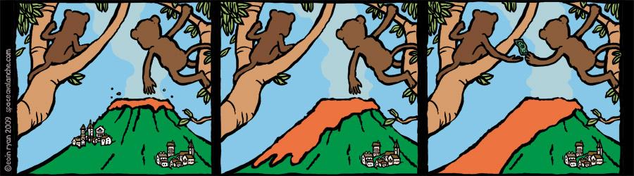 Space Avalanche Comic - Monkeys