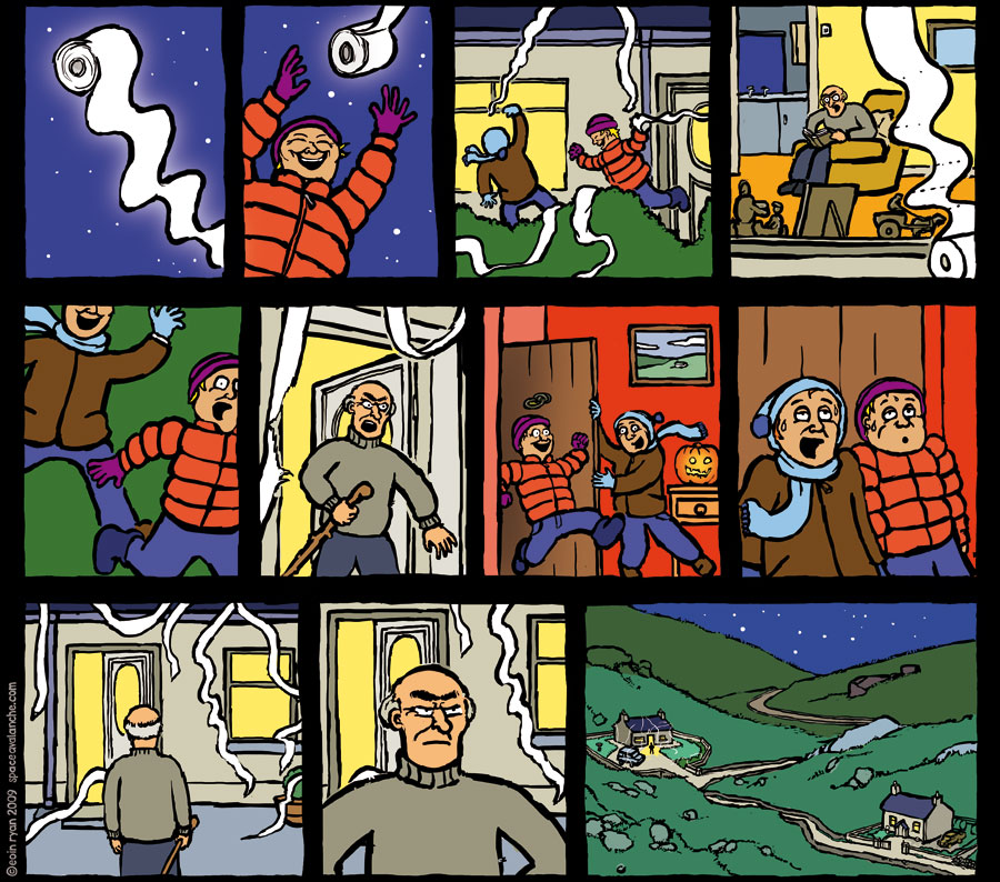 Space Avalanche Comics - Halloween in the west of Ireland