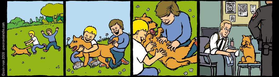 Space Avalanche Comics - Two Boys and a Dog